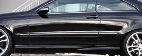 PD63 Side Skirts (right/left) for Mercedes CLK W209
