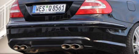PD63 Rear Bumper for Mercedes CLK W209 (also PDC available)