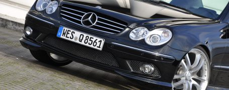 PD63 Front Bumper for Mercedes CLK W209 (also PDC & SRA available)