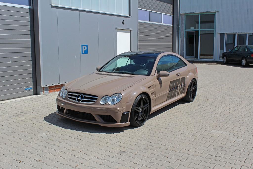 Mercedes Clk 63 Amg Black Series W209 Tuning Pd Black Edition