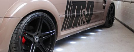 PD Black Edition Widebody Rear Widenings (right/left) for Mercedes CLK W209