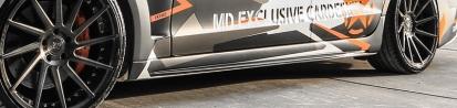 PD550 Black Edition Seitenschweller für Mercedes CLS W218