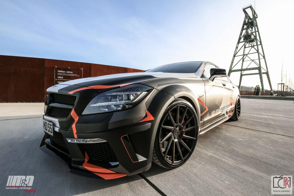 PD550 Black Edition Frontkotflügel für Mercedes CLS W218