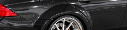 PD Black Edition Widebody Rear Widenings for Mercedes CLS W219
