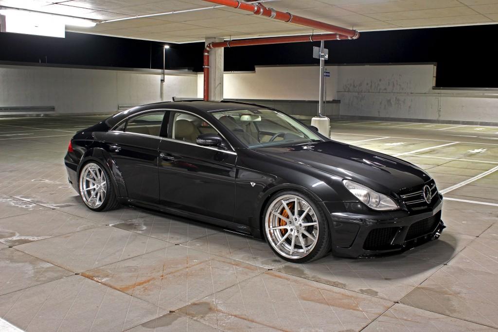 Mercedes CLS 63 AMG W219 Black Edition Tuning - PD Black Edition Widebody Aerodynamik-Kit