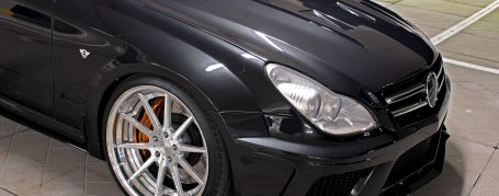 Black Edition WB Engine Cover Add-On Mercedes CLS W219