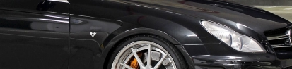 PD Black Edition Widebody Front Fenders for Mercedes CLS W219