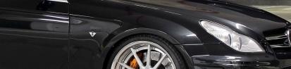 Black Edition Widebody Frontkotflügel für Mercedes CLS W219