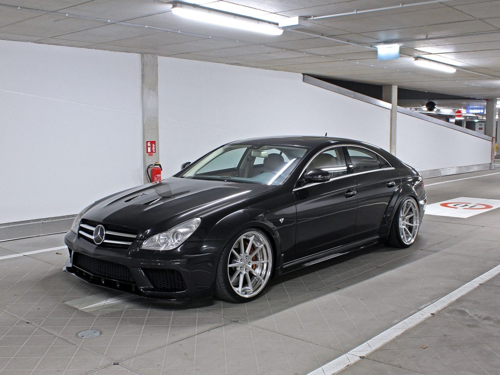 mercedes cls 63 amg w219 black edition tuning widebody aerodynamik kit m d exclusive. Black Bedroom Furniture Sets. Home Design Ideas