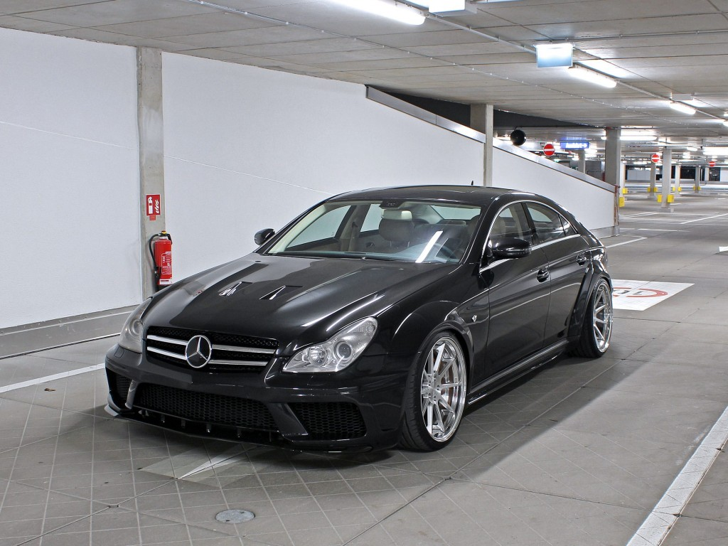 mercedes cls 63 amg w219 black edition tuning widebody. Black Bedroom Furniture Sets. Home Design Ideas