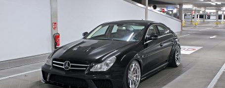 Mercedes CLS W219 Breitbau Tuning - Black Edition Widebody Aerodynamik-Kit
