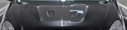 PD Black Edition Widebody Engine Cover Add-On for Mercedes CLS W219