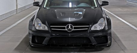 Black Edition WB Front Bumper Mercedes CLS W219