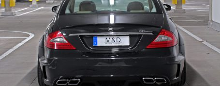 Black Edition WB Rear Bumper Mercedes CLS W219