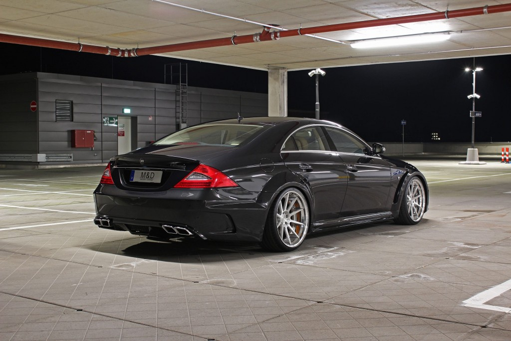 Mercedes Cls 63 Amg W219 Black Edition Tuning Widebody