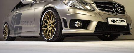Frontstoßstange passend für alle Mercedes E-Coupe C207 Modelle (auch PDC und SRA möglich)