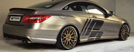 Heckstoßstange für alle Mercedes E-Coupe C207 Modelle (auch PDC verbaubar)