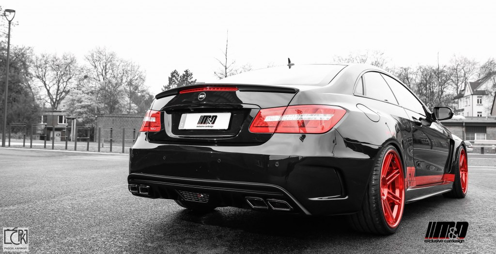 PD850 Black Edition Heckklapppenspoiler für Mercedes E-Coupe C207