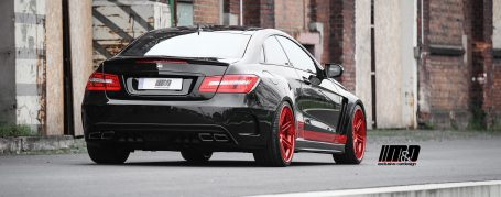 Mercedes E-Coupe & Cabrio C207/A207 Tuning - PD850 Black-Edition Widebody Aerodynamik-Kit