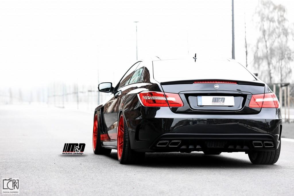 PD850 Black Edition Widebody Seitenwandverbreiterung für Mercedes E-Coupe C207