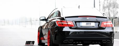 PD850 Black Edition Widebody Heckstoßstange inkl. Diffusor für Mercedes E-Coupe C207
