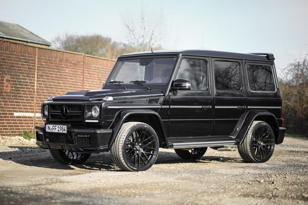 mercedes g klasse w463 tuning widebody aerodynamik kit. Black Bedroom Furniture Sets. Home Design Ideas