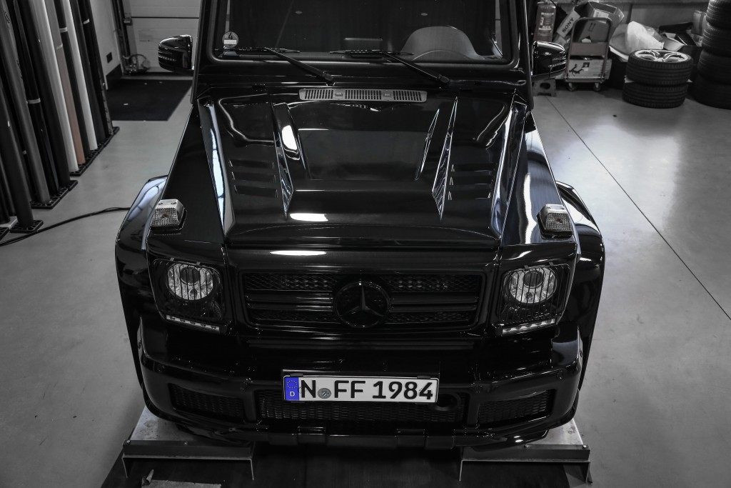 PD Motorhaube für Mercedes G-Klasse W463