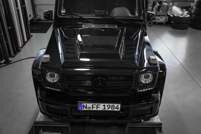 Motorhaube PD für Mercedes G-Klasse W463