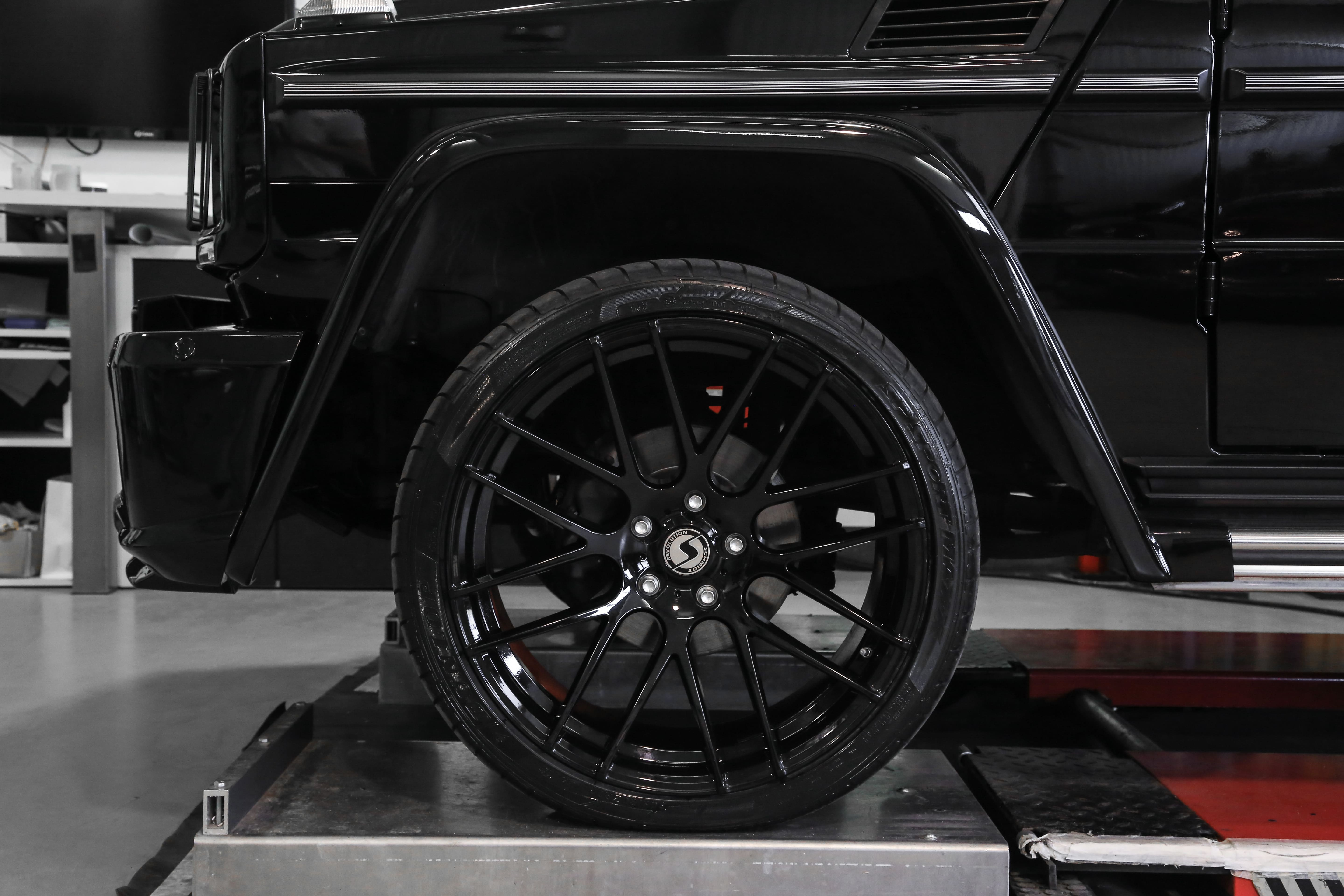 PD Front Widenings suitable for Mercedes G-Class W463