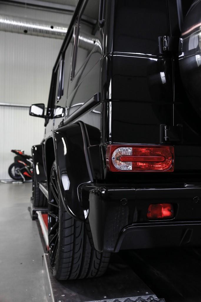 PD Widebody Front - und Heckverbreiterungen für Mercedes G-Klasse W463