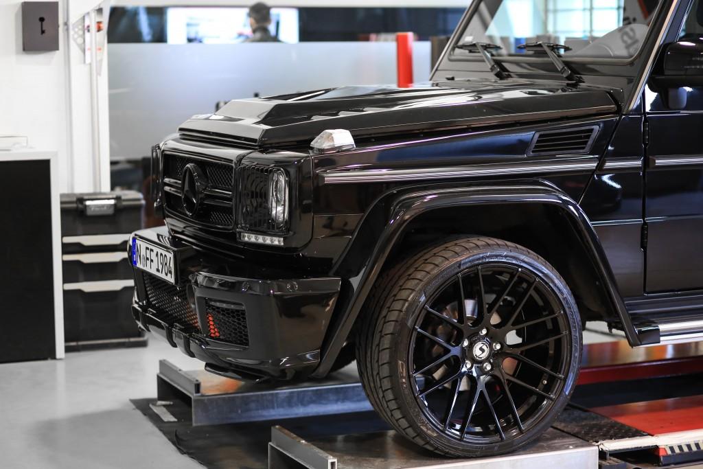 PD Widebody Frontverbreiterungen für Mercedes G-Klasse W463