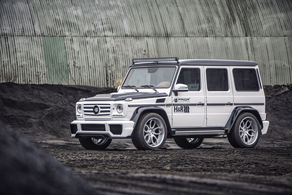 mercedes g class w463 tuning pd wide body aerodynamic. Black Bedroom Furniture Sets. Home Design Ideas