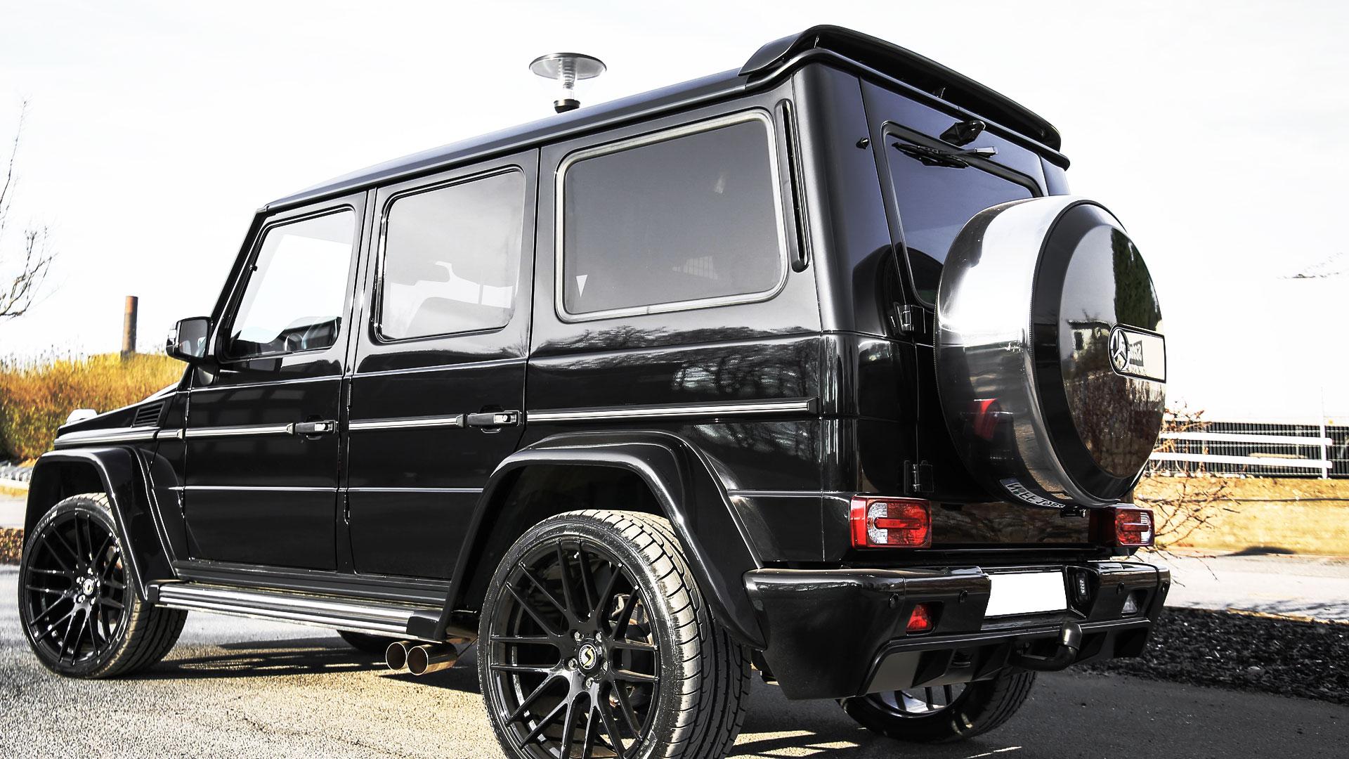 mercedes g klasse w463 tuning widebody aerodynamik kit. Black Bedroom Furniture Sets. Home Design Ideas