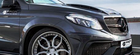 PDG800X Widebody Frontverbreiterungen für Mercedes GLE Coupe C292