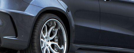PDG800X Widebody Heckverbreiterungen für Mercedes GLE Coupe C292