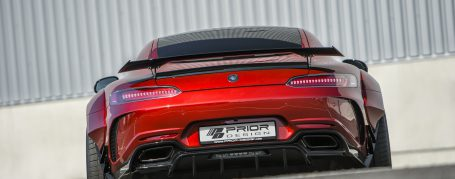 PD700GTR Rear Bumper + Diffusor for Mercedes GT/GTS & GTC AMG