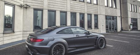 PD75SC Widebody Heckverbreiterungen für Mercedes S-Coupe C217