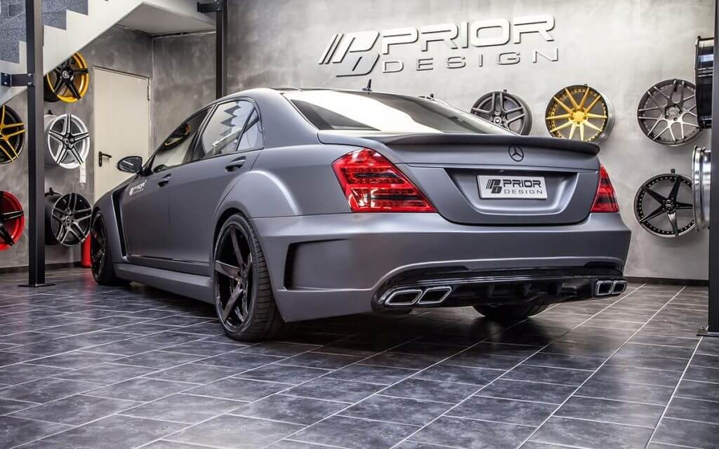 Mercedes S Class S63 S65 Amg W221 Tuning Black Edition