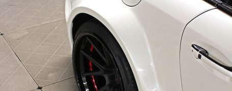 Black Edition Widebody Rear Widenings for Mercedes SL R230/R230FL