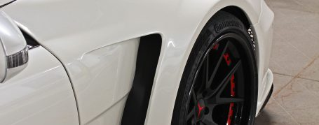 Black Edition Widebody Front Fenders incl. Vents Inserts for Mercedes SL R230/R230FL