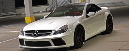 Mercedes SL R230 Breitbau Tuning - Black Edition Widebody Aerodynamik-Kit