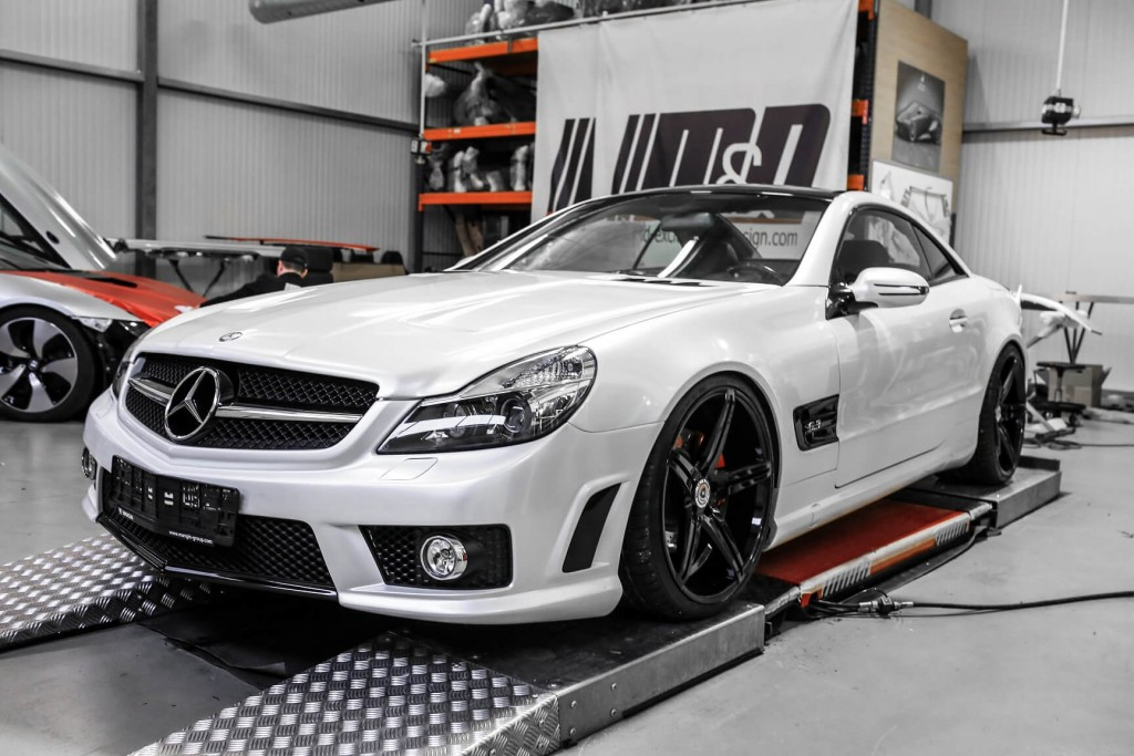 Mercedes SL 63 AMG R230 - PD63 Aerodynamik-Kit / Body Kit