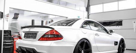 PD63 Heckstoßstange passend für Mercedes SL R230/R230FL