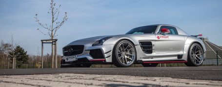 Mercedes SLS Coupe AMG C197 Breitbau Tuning - PD900GT Widebody Aerodynamik-Kit