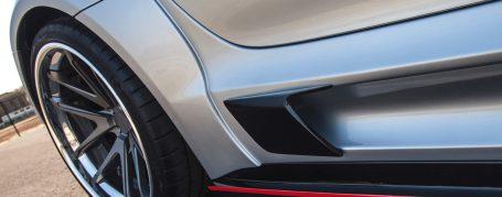 PD900GTWB Widebody Seitenschweller für Mercedes SLS AMG Coupé C197