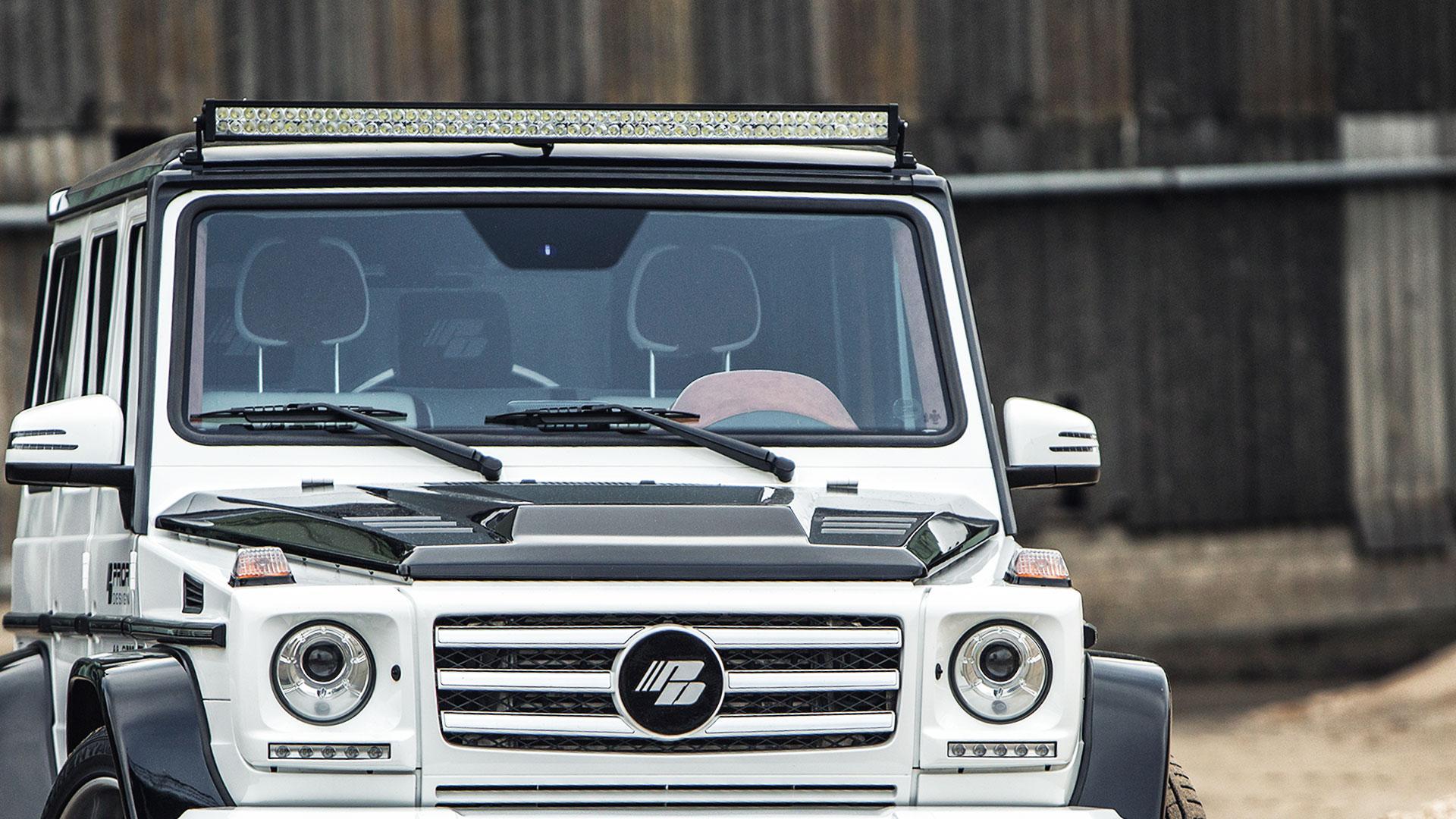 P650D Bonnet suitable for Mercedes G-Class W463