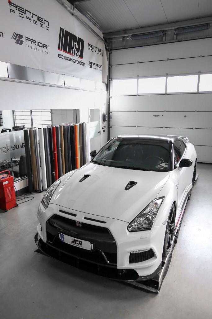 Nissan GT-R R35 Tuning - PD750 Aerodynamik-Kit / Bodykit