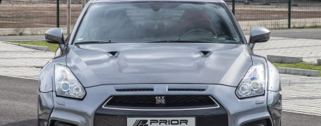 PD750 Front Bumper + Lip Spoiler for Nissan GT-R R35