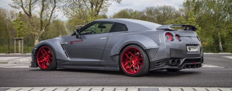 PD750 Widebody Rear & Front Widenings (4x) for Nissan GT-R R35