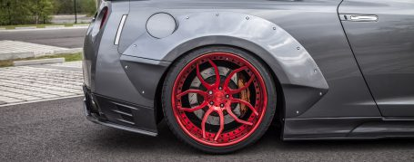 PD750 WB Widebody Rear Widenings for Nissan GT-R R35